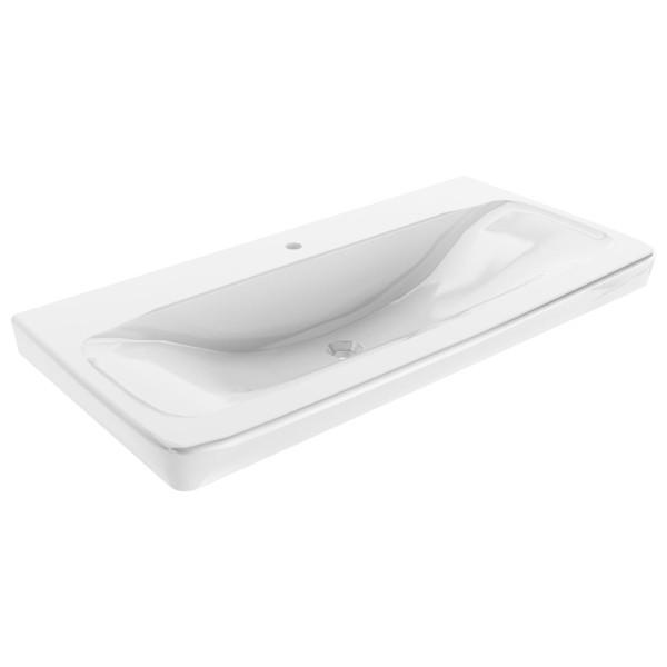 Fackelmann 84200 Waschtisch Milano Keramik weiß