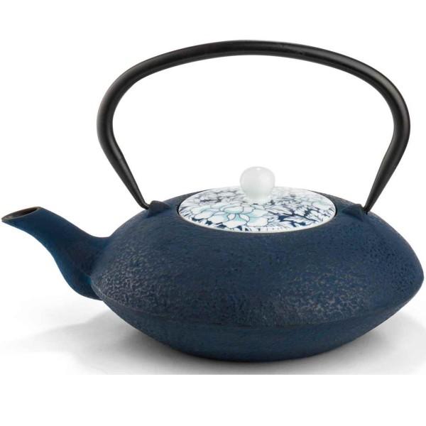 Bredemeijer Teekanne 1.2 L Yantai dunkelblau Gusseisen - Art.-Nr. G021BP