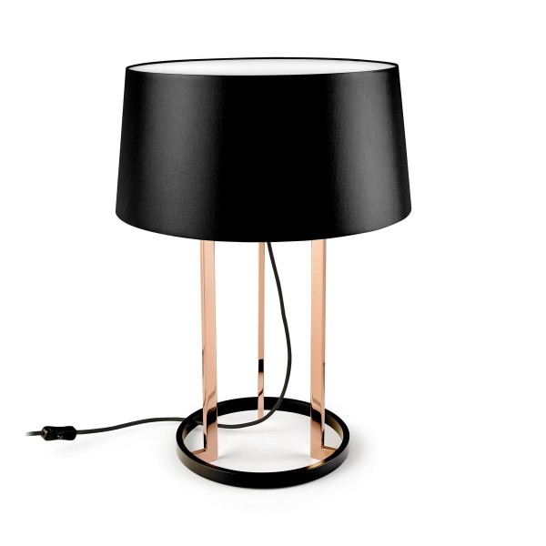 Tischleuchte Premium Ø 440 mm kupfer glänzend