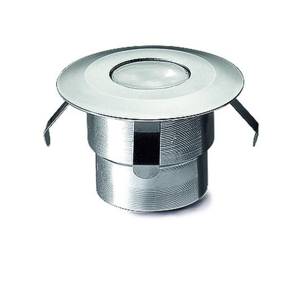 LED Bodeneinbauleuchte Gea Ø 45 mm aluminium eloxiert