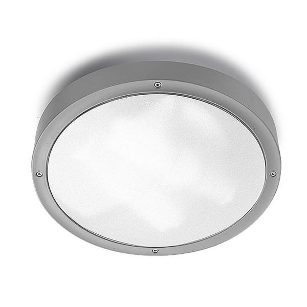 Deckenleuchte Basic Ø 36 mm grau