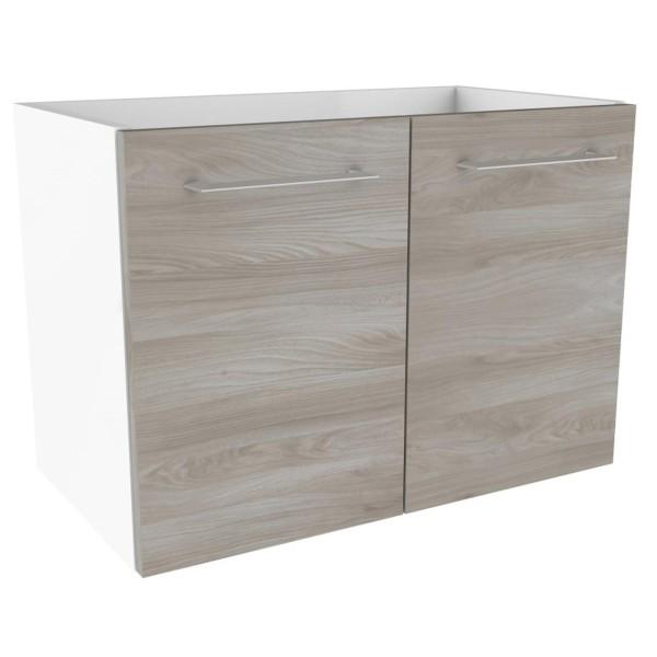 Fackelmann 84712 Waschtisch Unterschrank Lima 60 cm weiß
