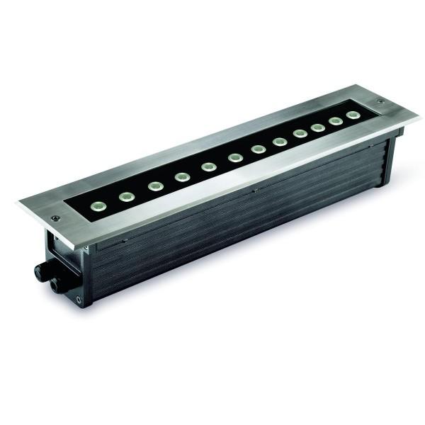 LED Bodeneinbauleuchte Gea Edelstahl poliert
