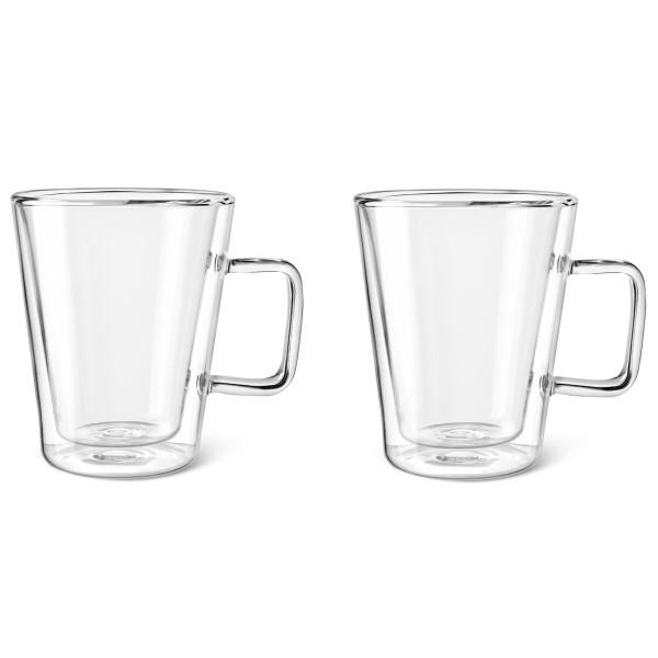 kleine doppelwandige Teegläser im 2er Set 0.4 Liter