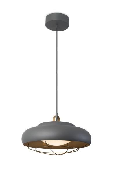 LED Pendelleuchte Sugar Ø oben= 150, unten= 400 mm anthrazit