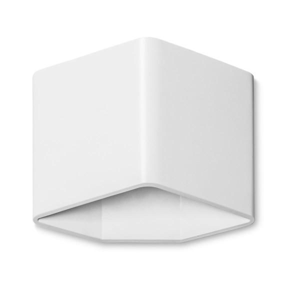 LED Wandleuchte Jet matt weiss
