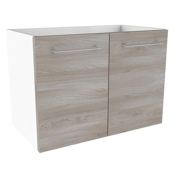 Fackelmann 84702 Waschtisch Unterschrank Lima 59 cm weiß