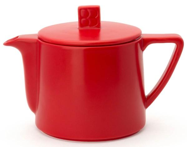 Bredemeijer Teekanne 0,5 L Lund rot Keramik - Art.-Nr. LD001R
