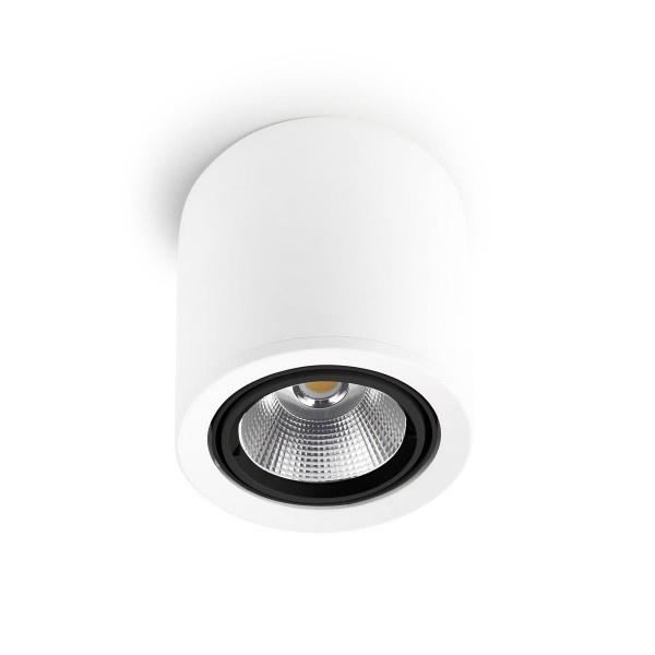 LED Deckenleuchte Exit Ø 180 mm weiss