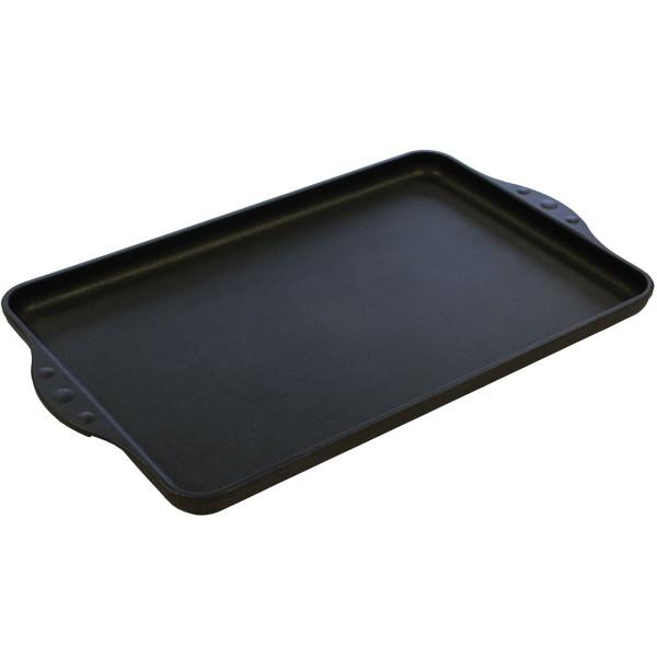 Eurolux Teppanyaki Grill-Platte Induktion 43x28 cm große Teppanyakiplatte glatt