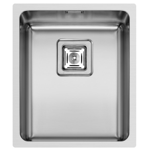 Pyramis Küchenspüle Lume 38 cm 1 Becken (flächenbündig)