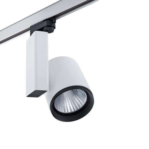 LED Strahler Mach3 Ø 115 mm weiss