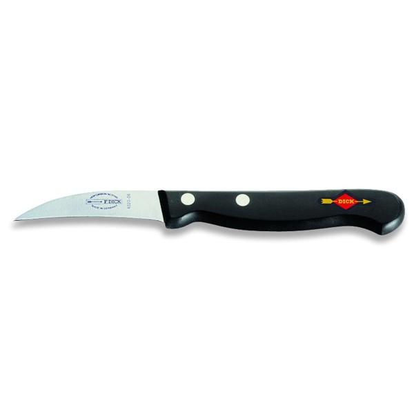 Dick 8402006 Superior Schälmesser schwarz 6 cm