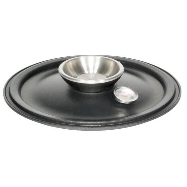 AMT Gastroguss Deckel Aluguss oval für Kochtopf wasserloses kochen - Art.-Nr. 03326