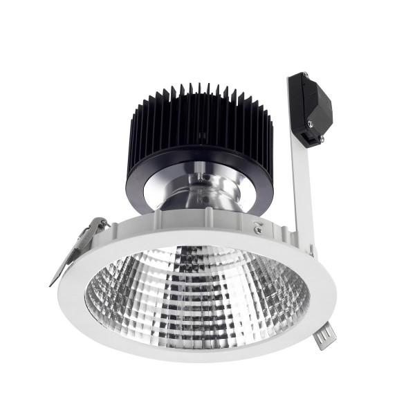 LED Einbauleuchte Equal Spot Ø 175 mm weiss