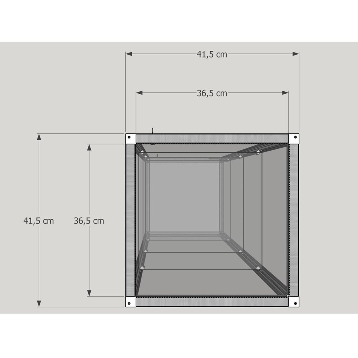 exklusive glas standvitrine abschlie bar mit unterschrank mm comsale. Black Bedroom Furniture Sets. Home Design Ideas