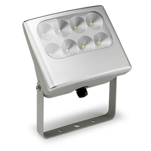 LED Strahler Shull grau