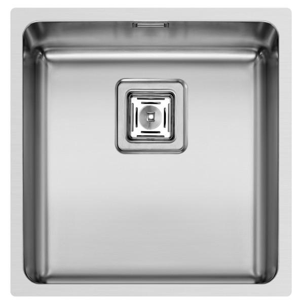 Pyramis Küchenspüle Lume 44 cm 1 Becken (flächenbündig)