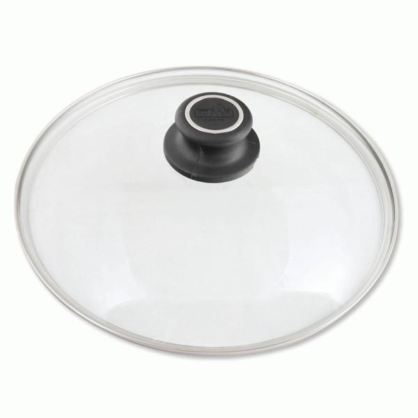 BAF runder backofenfester Glasdeckel mit Edelstahlrand für Töpfe & Pfannen 24 cm - Art.-Nr. 800172242