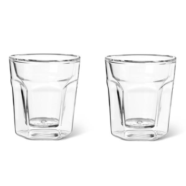kleine doppelwandige Espressogläser 10 cl im 2er Set