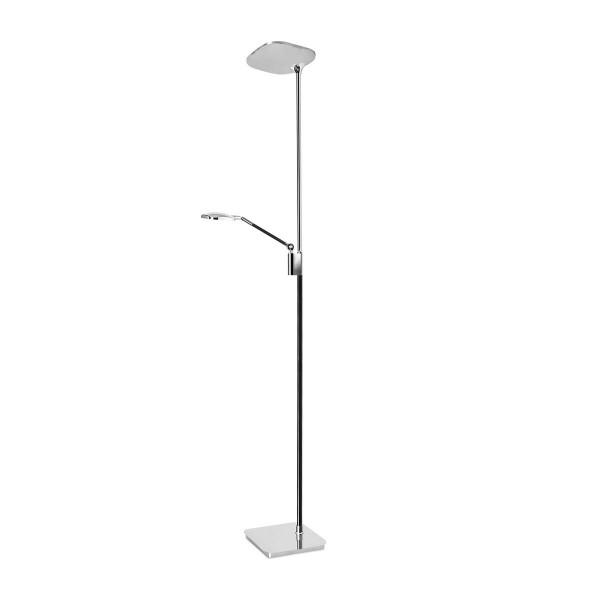 LED Stehleuchte Queen Ø 250 mm chrom schwarz