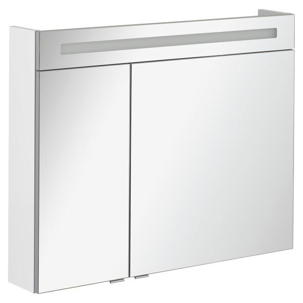 Fackelmann 82973 LED Spiegelschrank B.Clever 90 cm weiß