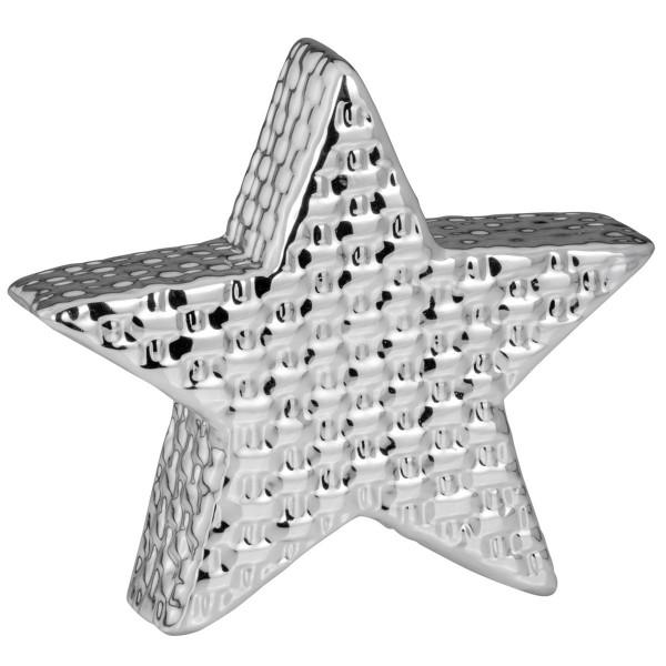 H.Bauer jun. Dekoration Stern 17.4 x 4.4 cm gewebt Höhe 16.7 cm - Art.-Nr. 6275ver großer