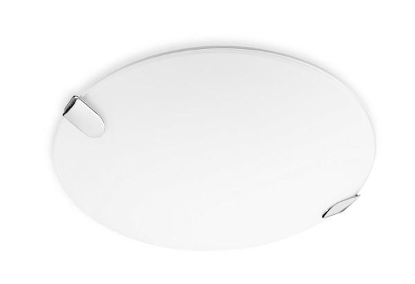 Deckenleuchte Clip Ø 500 mm chrom