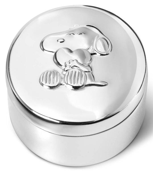 Zilverstad Zahn/Haardose Snoopy versilbert anlaufgeschützt L 4,5 cm B 2,2 cm H 5,5 cm - Art.-Nr. 6870261
