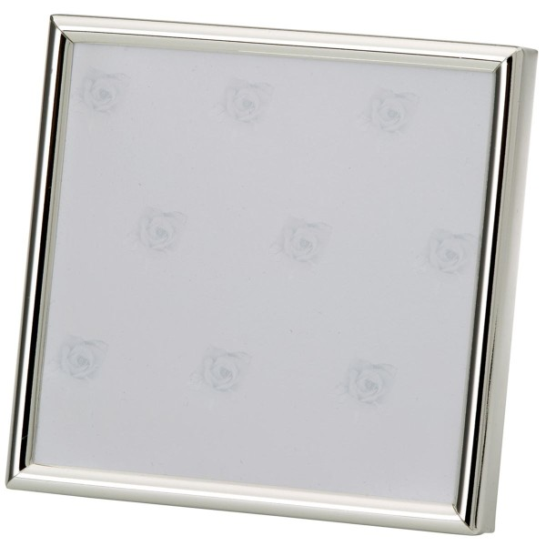 H.Bauer jun. Fotorahmen x 13 cm glatt poliert Höhe 13 cm - Art.-Nr. 3774ver versilberter
