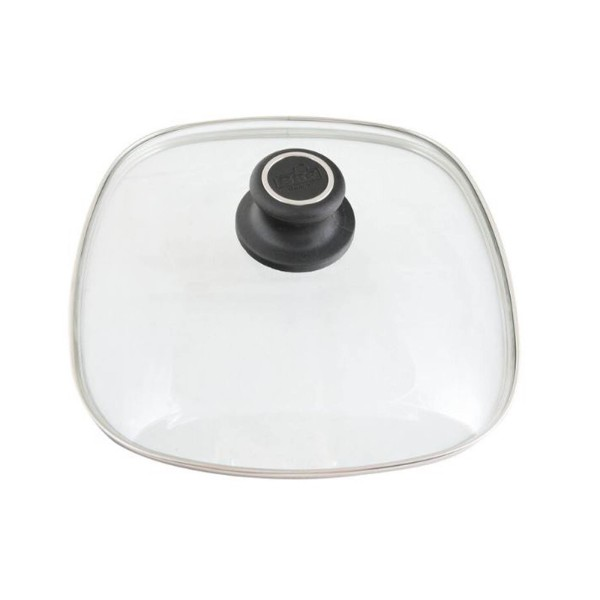 BAF eckiger backofenfester Glasdeckel für Töpfe & Pfannen 20 x 20 cm - Art.-Nr. 800173202