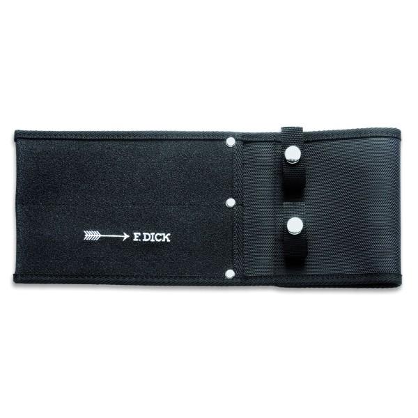 Dick Messerscheide für 2 Messer bis 21 cm schwarz - Art.-Nr. 9013400