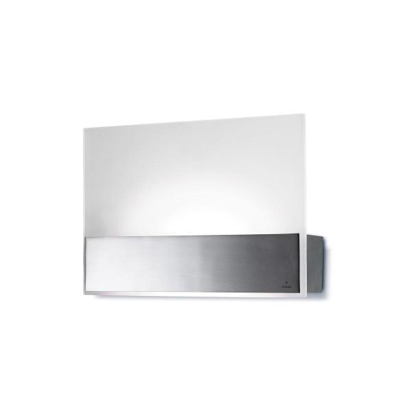 LED Wandleuchte Flat nickel satiniert