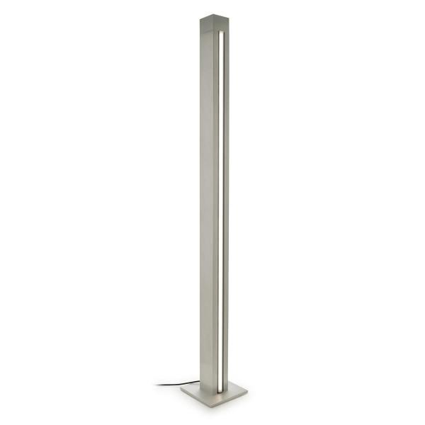 LED Stehleuchte Total Ø 105 , 250 base mm aluminium, satiniert