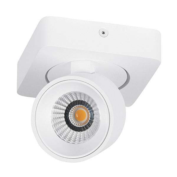 runder weißer schwenkbarer dimmbarer LED Deckenstrahler Ø 6.5 cm
