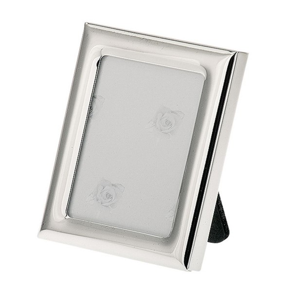 H.Bauer jun. Fotorahmen x 5.5 cm glatt poliert Höhe 7 cm - Art.-Nr. 3714ver versilberter
