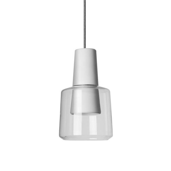 LED Pendelleuchte Khoi Ø 148 mm matt weiss