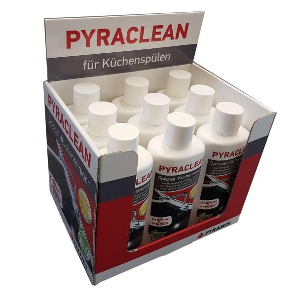 Pyramis Reinigungsmittel, 9er Set Pyraclean