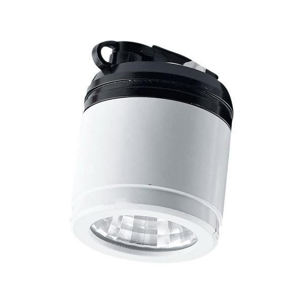 LED Einbauleuchte Mini Play Ø 28 mm weiss