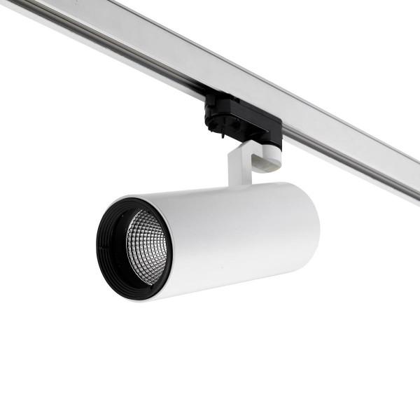LED Strahler Mini Bond Tube Ø 80 mm weiss