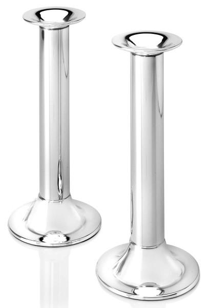 Zilverstad Kerzenleuchter Tube versilbert anlaufgeschützt 2er-Set H 22 cm - Art.-Nr. 6244231